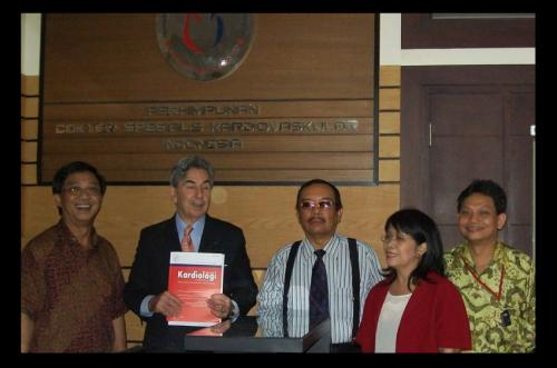 Kunjungan Ketua European Society of Cardiology